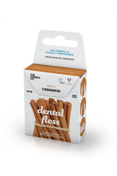 Fio Dental Orgânico Cinnamon The Humble - 50m