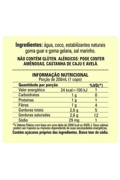 Leite de Coco Não Adoçado Annora - 1l