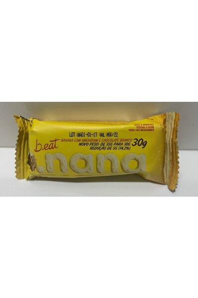 Banana c/ amendoim e chocolate branco - 30g beat b.nana - 3g proteína