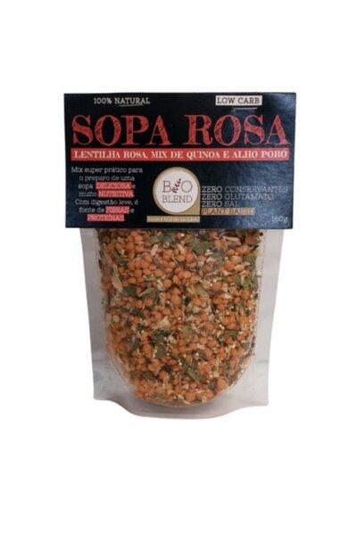 Sopa Rosa (Lentilha Rosa, Mix Quinoa e alho poró) Bio Blend - 160g