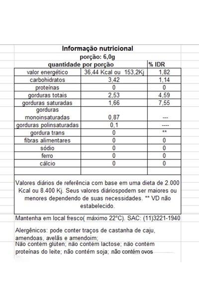 Chocolate Branco Vegano Lingua de Gato Tnuva - 100g