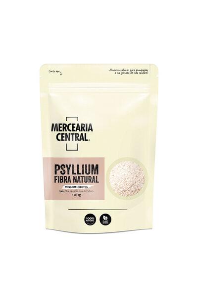 Psyllium fibra natural - 99% husk mercearia central - 100g