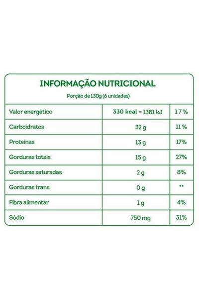 Nuggets vegetal sabor frango 100 Foods - 200g