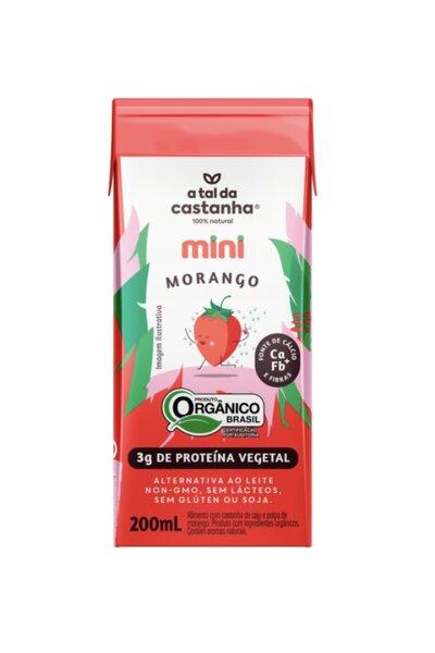 Mini morango a tal da castanha - 200ml