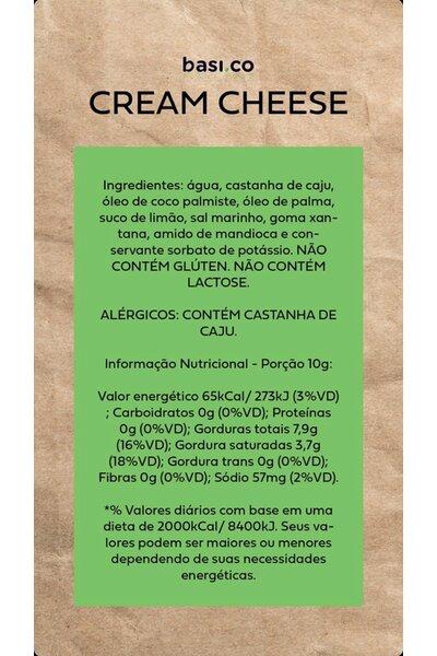 Cream cheese vegetal basico - 150g