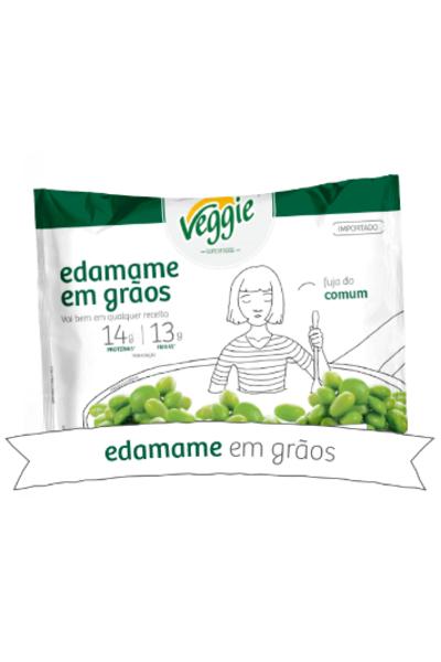 Edamame em grãos veggie 300g