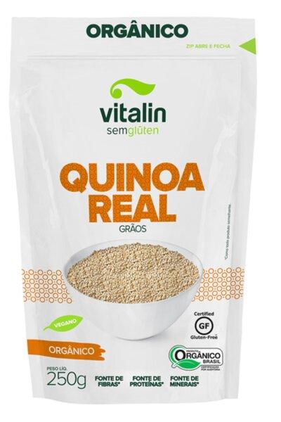 Quinoa real grãos orgânico vitalin - 250g