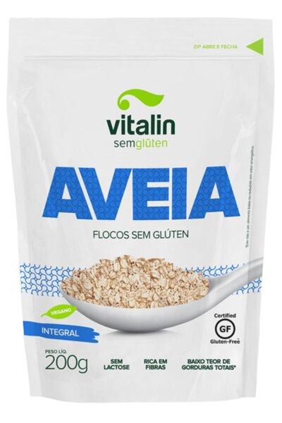 Aveia flocos integral vitalin - 200 g