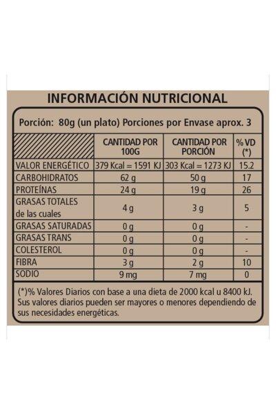 Macarrão de feijão e chia wakas *24g proteína - 250g