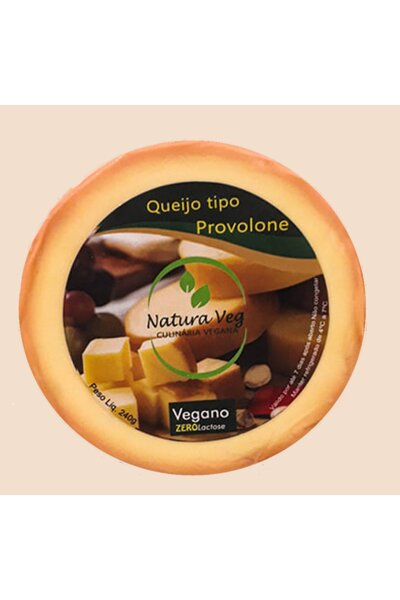 Queijo Provolone Vegano Natura Veg - 240g