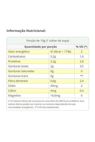 Queijo ralado vegetal sora - 50g