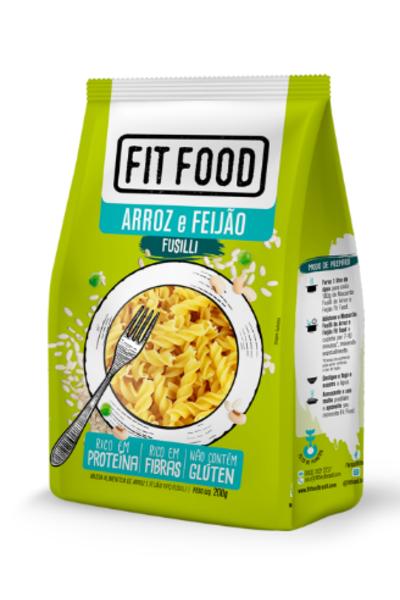 Macarrão fusilli arroz e feijão Fit Food - 200g