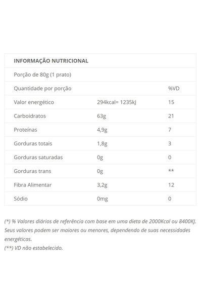 Macarrão fusilli casarão - cenoura, batata doce, chia, curcuma - 300g