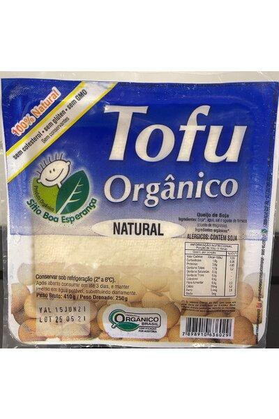 Tofu orgânico sitio boa esperança - 250g