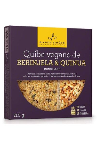 Quibe de beringela e quinua - bianca simoes - 210g