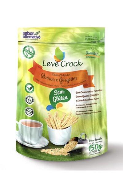 Palitos Salgados de Quinoa e Gergelim Leve Crock - 150g