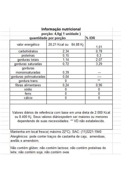 Chocolate vegano pastilhas coloridas Tnuva - 50g