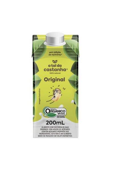 Original orgânico a tal da castanha - 200ml