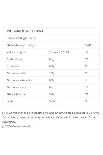 Macarrão fusilli casarão - espinafre, beringela, pimenta chilli - 300g