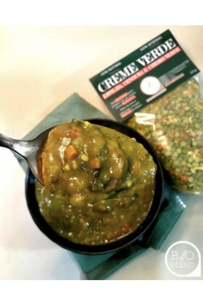 Creme Verde (ervilha, cenoura e cheiro verde) Bio Blend - 260g