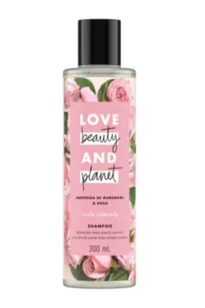 Shampoo manteiga de murumuru & rosa - 300ml Cabelos cacheados