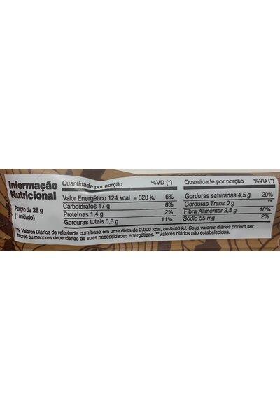 Barra vegan crunchy caramelo e cacau - bio2- 28g
