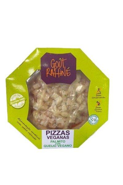 Pizza palmito com queijo vegano - gout raffine - 320g