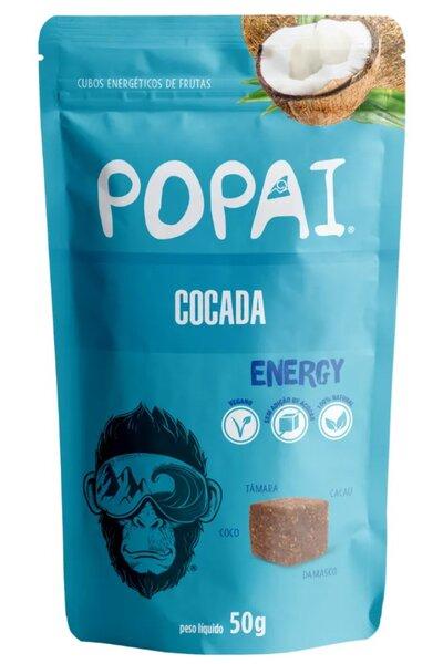 Snack Energy sabor Cocada Popai - 50g