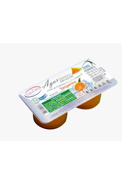 Gelatina ágar sabor tangerina - zero açucar - dolce vita - 200g