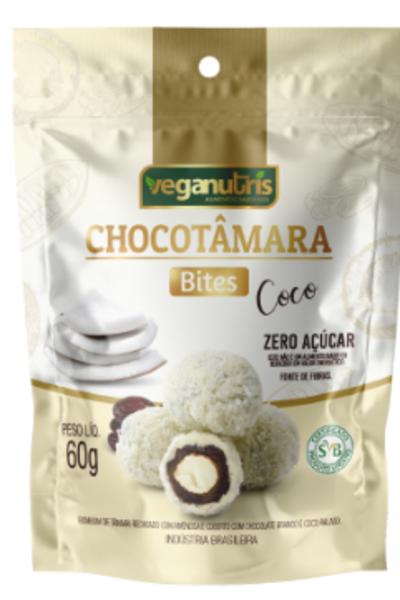 Chocotâmara Bites Coco Veganutris - 60g