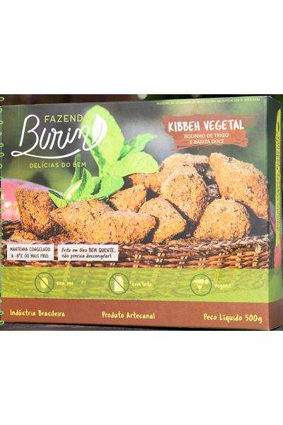 Kibe vegetal - fazenda burin 500g