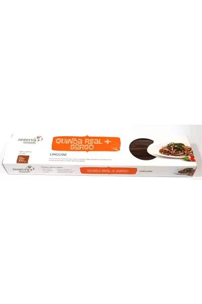 Macarrão linguini de quinoa e sorgo reserva mundi - 300g