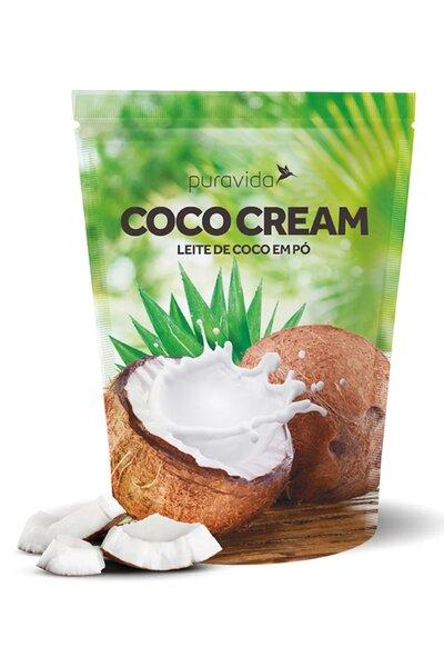 Leite de coco em pó - coco cream puravida - 250g