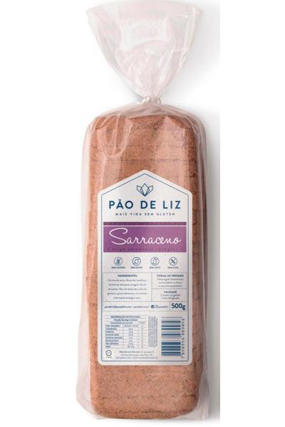Pão sem glúten sarraceno pão de liz - 500g