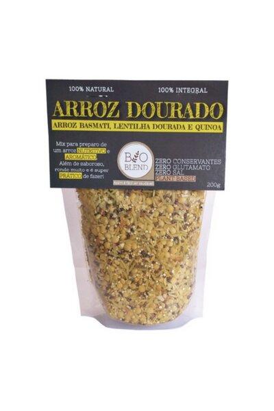 Arroz Dourado (Arroz Basmati, Lentilha Dourada e Quinoa) Bio Blend - 200g