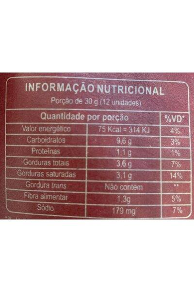 Snack de mandioca, grão de bico com pimenta yuka 50g