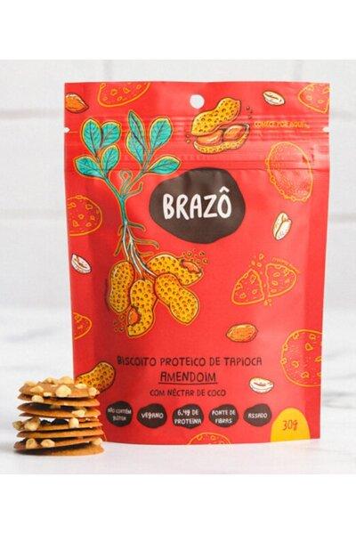 Snack Proteico Amendoim e néctar de coco Brazô - 30g