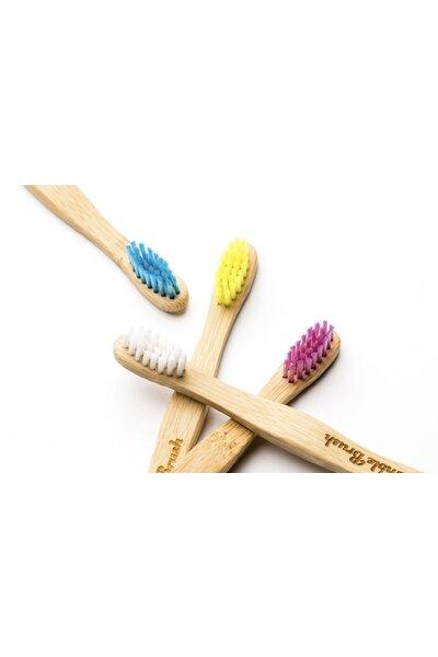 Escova de dente de Bambu Biodegradável Infantil The Humble - Cerdas Branca
