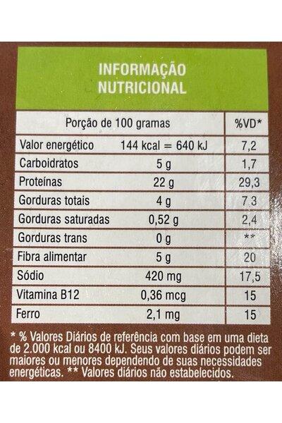 Tiras de Mignon Vegetal Verdali - 230g
