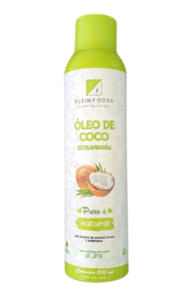 Óleo de coco spray klein foods - 200ml