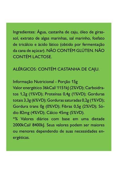 Queijo minas frescal vegetal basico - 280g