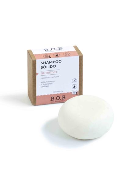 Shampoo nutritivo bob - 80g **cabelos normais a ressecados**