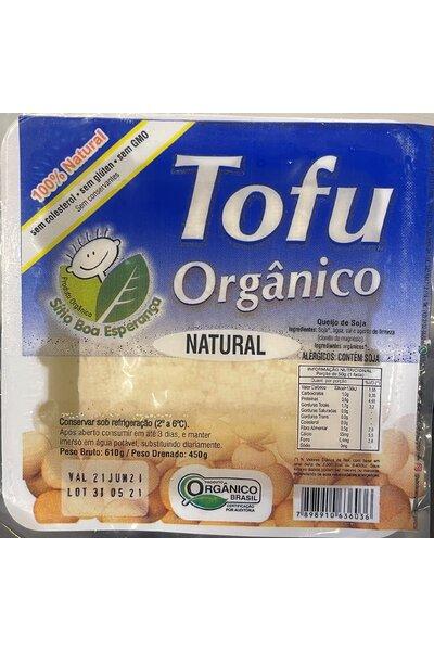 Tofu orgânico sitio boa esperença - 450g