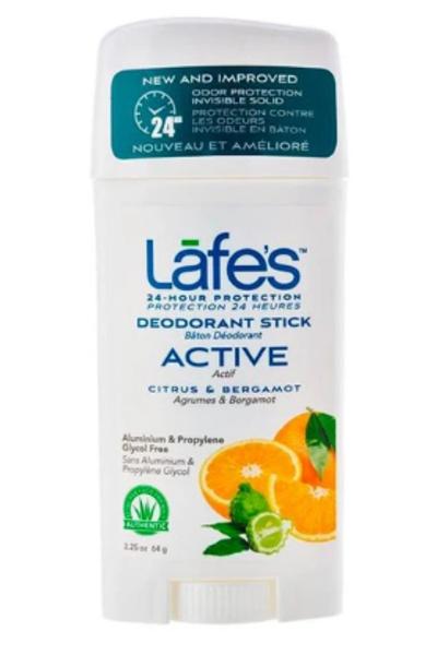 Desodorante Natural Twist Active Lafes - 64g