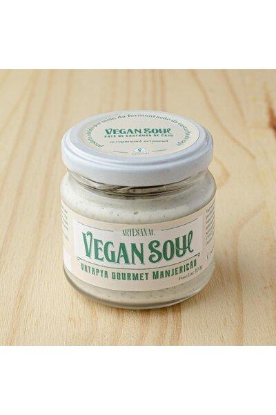 Patê vegetal de castanha de caju - Manjericão Vegan Soul - 120g