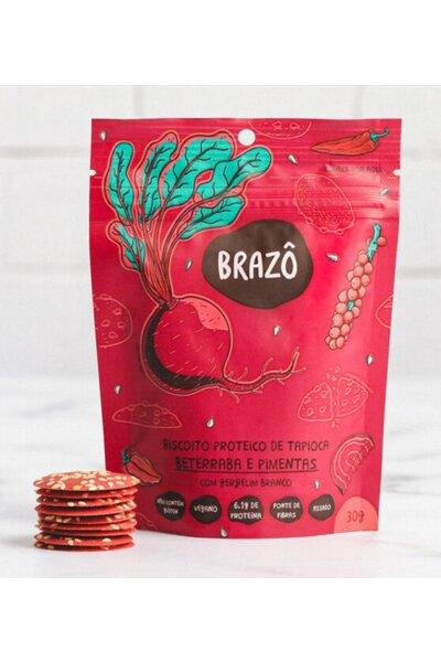 Snack Proteico Beterraba Picante Brazô - 30g