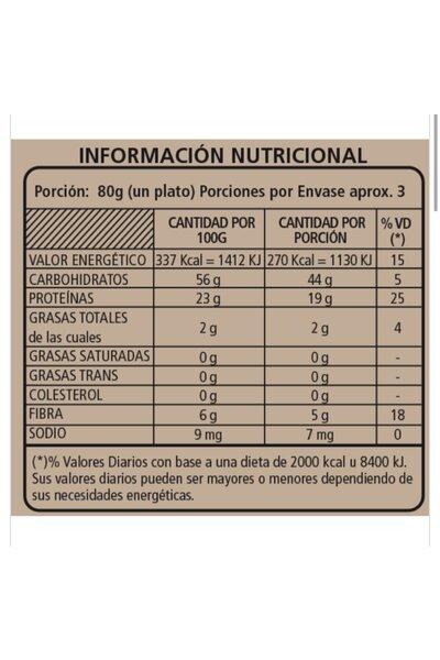 Macarrão de lentilha e chia wakas *23g proteína - 250g