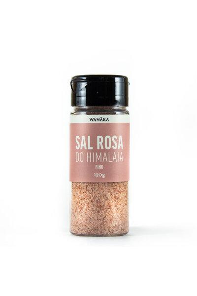 Sal rosa do himalaia fino - 120g