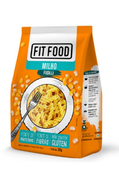 Macarrão fusilli milho Fit Food - 200g