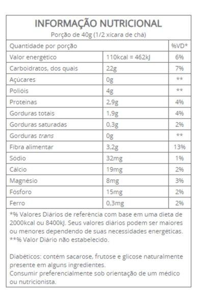 Granola cranberry e goji vitalin - 200g
